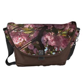 Cherry floral bag commuter bag