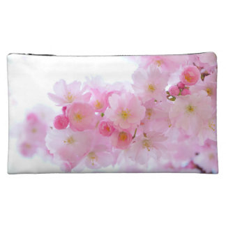 Cherry Flower Makeup Bags