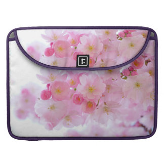Cherry Flower Sleeves For MacBook Pro