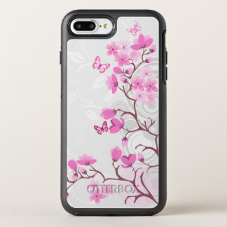Cherry Flowers OtterBox Symmetry iPhone 8 Plus/7 Plus Case