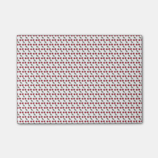Cherry fruit pattern post-it® notes