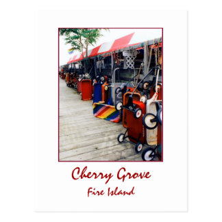 'Cherry Grove Pride Wagon' Postcard