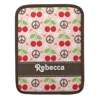 Cherry iPad Sleeve