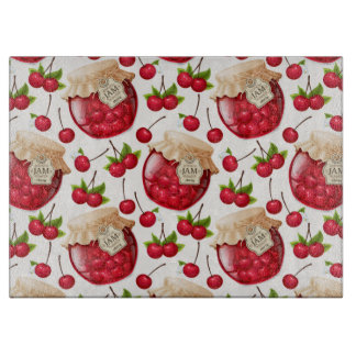 Cherry Jam Cutting Board