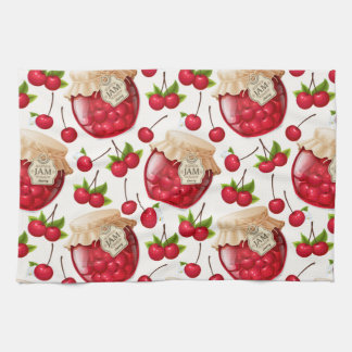 Cherry Jam Kitchen Towel
