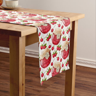 Cherry Jam Long Table Runner