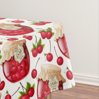 Cherry Jam Tablecloth
