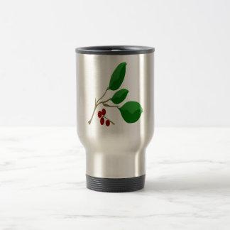 Cherry Laurel Travel Mug