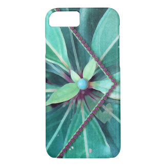 Cherry Leaves Clutch iPhone 7 Case