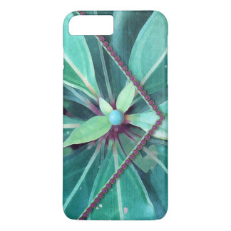 Cherry Leaves Clutch iPhone 7 Plus Case