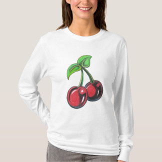 Cherry Long Sleeve T Shirt