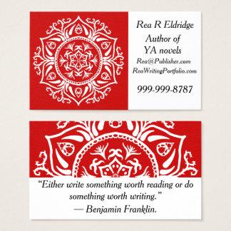 Cherry Mandala Business Card