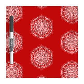 Cherry Mandala Dry Erase Board