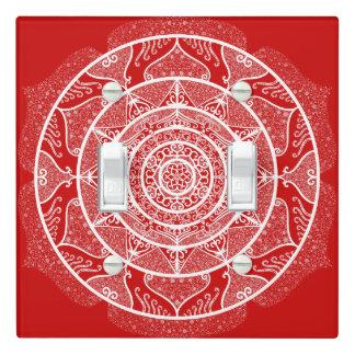 Cherry Mandala Light Switch Cover
