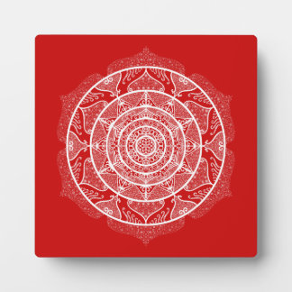 Cherry Mandala Plaque