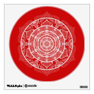 Cherry Mandala Wall Sticker