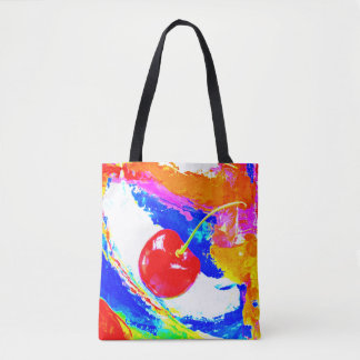 Cherry Market Bag