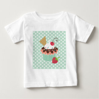 Cherry & Mint Cupcake T-shirt