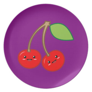 Cherry Party Plate