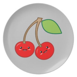 Cherry Party Plates