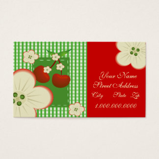 Cherry Patch Business Card