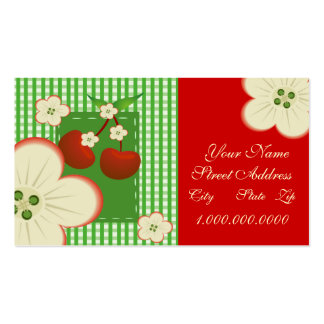 Cherry Patch Business Cards