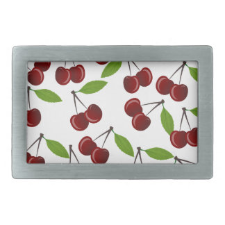 Cherry pattern belt buckle