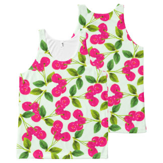 Cherry Picking All-Over-Print Tank Top