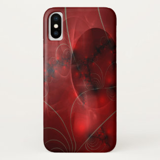 Cherry Pie Abstract iPhone X Case