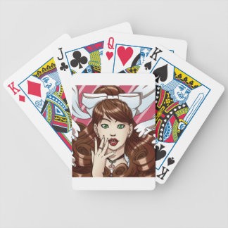 Cherry Pie Bicycle Playing Cards