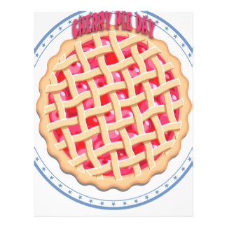 Cherry Pie Day - Appreciation Day Letterhead