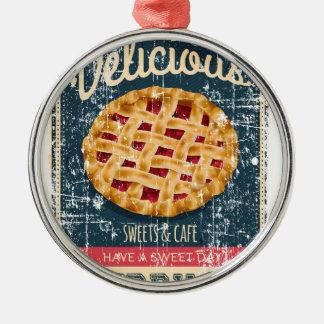 Cherry Pie Day - Appreciation Day Metal Ornament