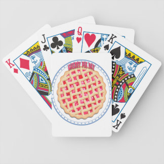 Cherry Pie Day - Appreciation Day Poker Deck