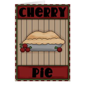 Cherry Pie fun greeting card