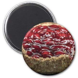 Cherry Pie Graham Crust Refrigerator Magnet