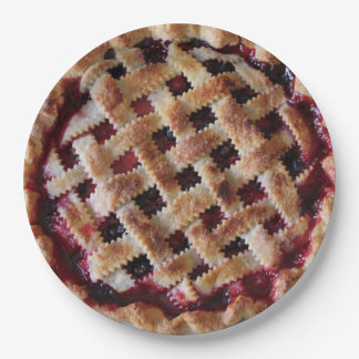 Cherry Pie Party Paper Plates