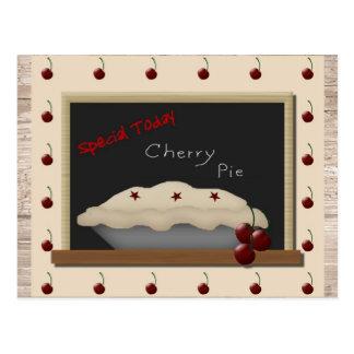 Cherry Pie Recipe Cards