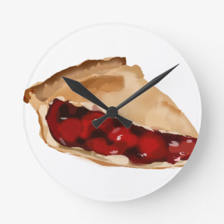 Cherry Pie Wallclocks