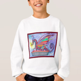 Cherry Pie with Faery and Dragon Fairy Sweatshirt
