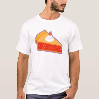 Cherry pie with whipped cream T-Shirt
