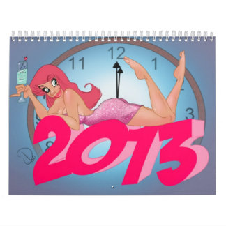 Cherry Pin Up Calendar 2013