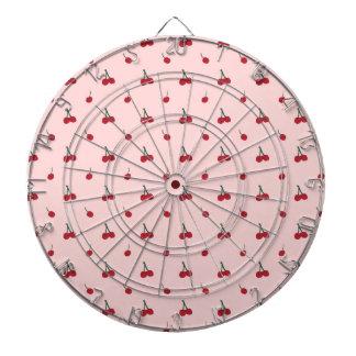 Cherry Pink Pattern Dartboard