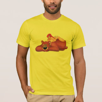 Cherry Pinup T-Shirt - Cherry and the Pink Bear