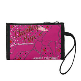 Cherry Pop Clutch Change Purse