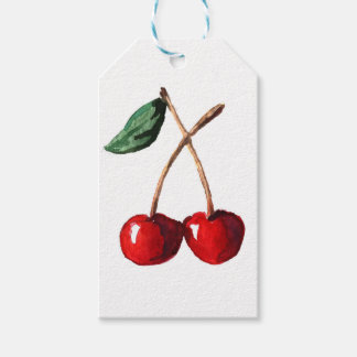 Cherry Red Gift Tags