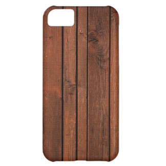 Cherry redwood iPhone 5C case