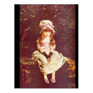 Cherry Ripe', Sir John Everett_Portraits Postcard