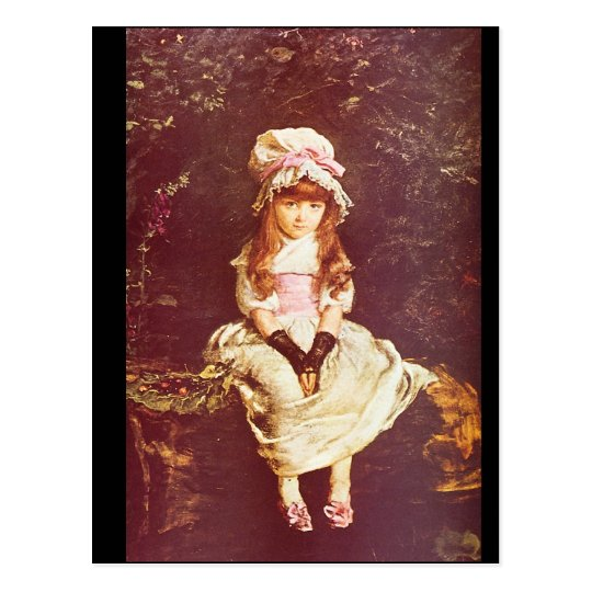 Cherry Ripe', Sir John Everett_Portraits Postcard