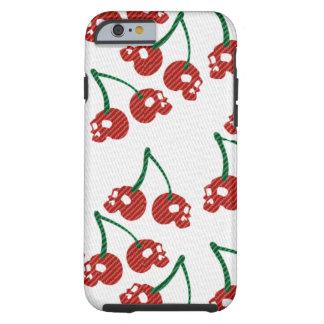 Cherry Skulls Red Tough iPhone 6 Case