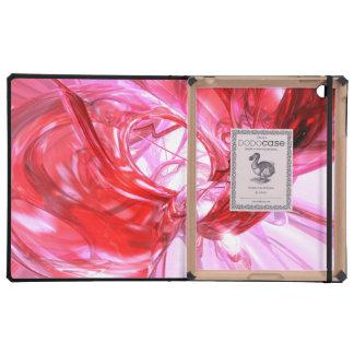 Cherry Splash Abstract iPad Case